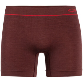 Icebreaker Anatomica Seamless Boxers Hombre, port royale